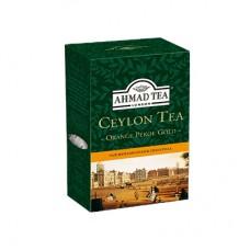 Чай Ahmad Цейлон Оранж Пеко Голд 200г