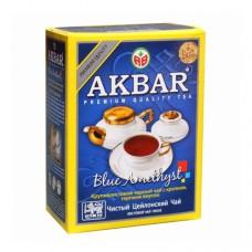 Чай Akbar Акбар черный Голубой Аметист 100г