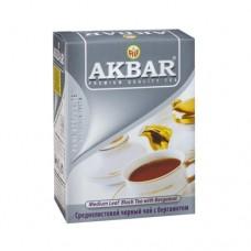 Чай Akbar Акбар черный с бергамот 100г