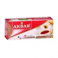 Чай Akbar Акбар  черный 25 ф/п