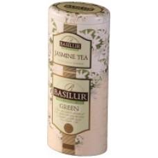 "Basilur2в1 ""Green Tea"" Зеленый+жасмин 125г ж/б"