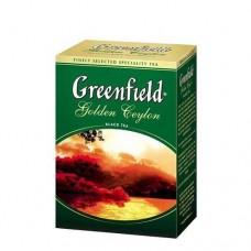 Чай Гринфилд Golden Ceylon Золотой цейлон 100г