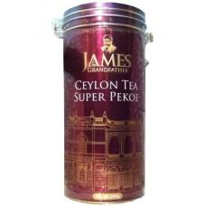 Чай Джеймс James Grandfather Super Pekoe 350г жесть банка