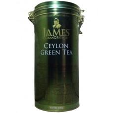 Чай Джеймс James Grandfather Green 300г жесть банка