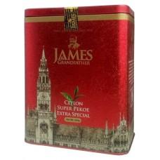 Чай Джеймс James Grandfather Extra Pekoe Special 200г жесть банка