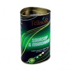 Чай TEASOR Саусеп Мандарин зелёный 100 ж/б
