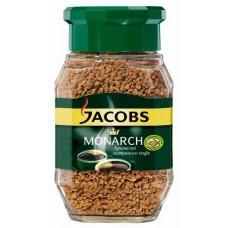 Кофе Якобс Монарх растворимый 95г стекло банка
