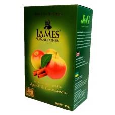 Чай Джеймс James Grandfather Apple & Cinnamon зелёный 100г