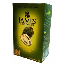 Чай Джеймс James Grandfather Soursop зелёный 100г~