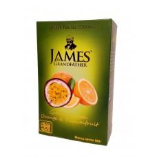 Чай Джеймс James Grandfather Orange & Passionfruit зеленый 100г