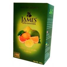 Чай Джеймс James Grandfather Citrus зелёный 100г~