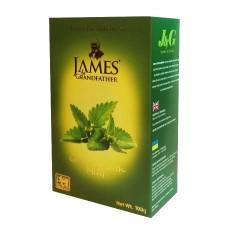 Чай James Grandfather Джеймс зеленый Мята 100г
