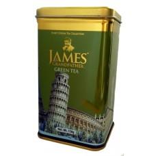 Чай Джеймс James Grandfather Сlassic зелёный 150г жесть банка