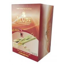 Чай Джеймс James Grandfather Lemongrass 20 пакет чёрный~
