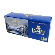 Чай Джеймс James Grandfather English Breakfast 25 пакет
