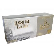 Чай Джеймс James Grandfather Earl Grey черный 25 пакет
