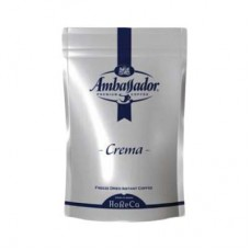 Кофе Ambassador Амбассадор Crema растворимый 200г пакет