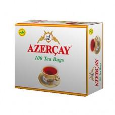 Чай Азерчай черный с бергамотом 100 пак