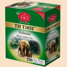 Чай Ти Тэнг Рухуна 100 пак.
