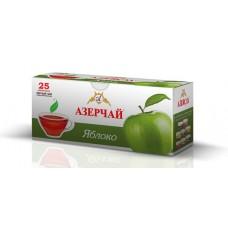 Чай Азерчай черный яблоко 25 пакетов