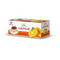 Чай Азерчай черный апельсин 25 пак