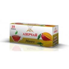 Чай Азерчай черный манго 25 пакетов