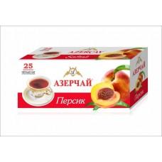 Чай Азерчай черный персик 25 пак
