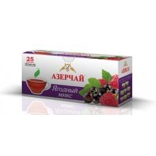 Чай Азерчай черный ягодный микс 25 пак