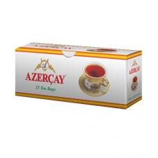 Чай Азерчай черный с бергамотом 25пак в конв.