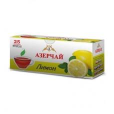 Чай Азерчай черный лимон 25 пак