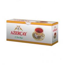 Чай Азерчай черный с бергамотом 25пак без конв.