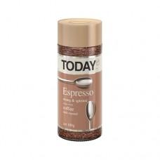 Кофе растворимый Тудей Эспрессо 200г стекло