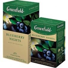 Чай Greenfield Гринфилд Черника Bluberry Nights 25 сашетов