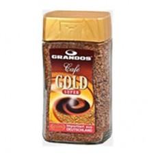 Кофе растворимый Грандос Голд 200г стекло
