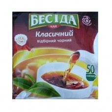 Чай Беседа черный 50 пакет М/У