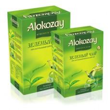 Чай Алокозай зелений цейлонський листовий 180г