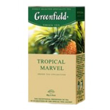 Чай Greenfield Гринфилд Tropical Marvel Тропик 25 сашетов