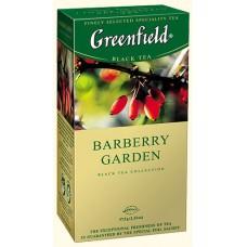 Чай Гринфилд Барбарис Barberry Garden 25 пакетов