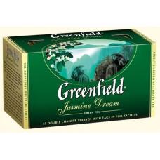Чай Гринфилд Jasmine Dream Зелёный Жасмин 25 пакетов