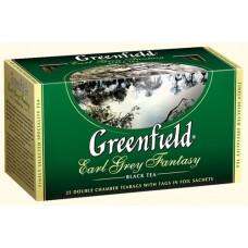 Чай Greenfield Гринфилд Earl Grey Fantasy Эрл Грей 25 сашетов