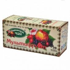 Чай Карпатский Мультифрукт 20 пакет