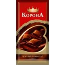 Шоколад Корона черный 100г