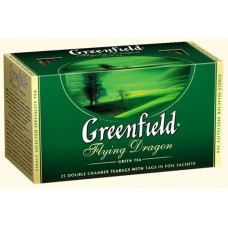 Чай Greenfield Гринфилд Flying Dragon Зелёный 25 сашетов