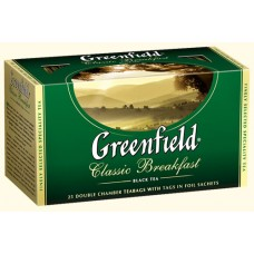 Чай Гринфилд Classic Breakfast Классический завтрак 25 пакетов