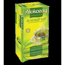 Чай Алокозай зелений цейлонський 25 фільтр пакет