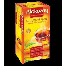 Чай Алокозай чорний цейлонський 25 фільтр пакет
