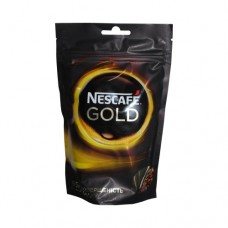 Кофе Nescafe Нескафе растворимый Голд 210г пакет