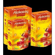 Чай Алокозай чорний цейлонський середньолистовий – FBOP 180г