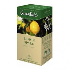 Чай Greenfield Гринфилд Lemon Spark Лимон 25 сашетов