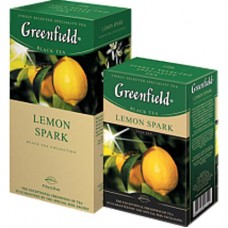 Чай Гринфилд Greenfield Lemon Spark Лимон 100г